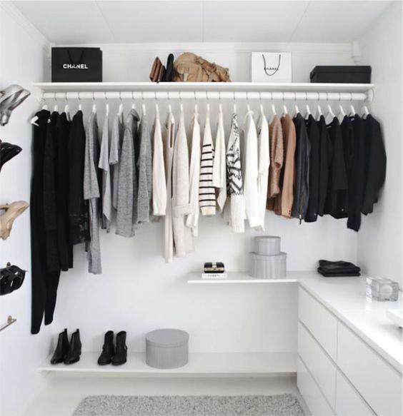 Como montar um armário cápsula?