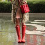 O que usar quando chove e faz calor?