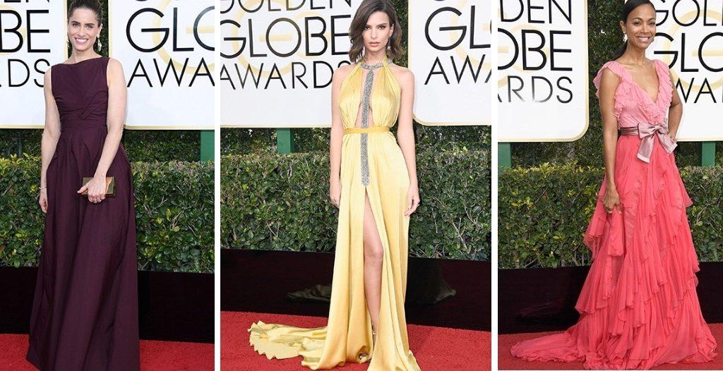 Looks do Globo de Ouro 2017 de cada estilo e prioridade