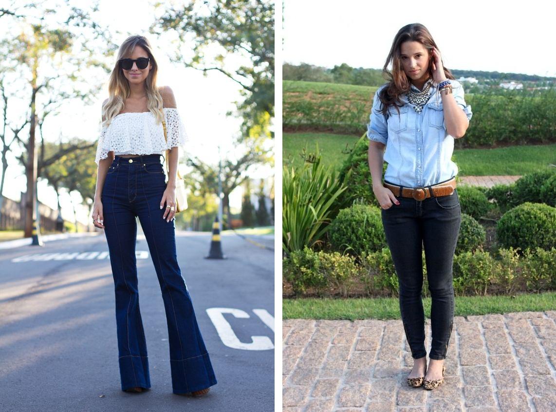 7a08dccc8 A calça jeans ideal para cada tipo de corpo - Vestindo Autoestima