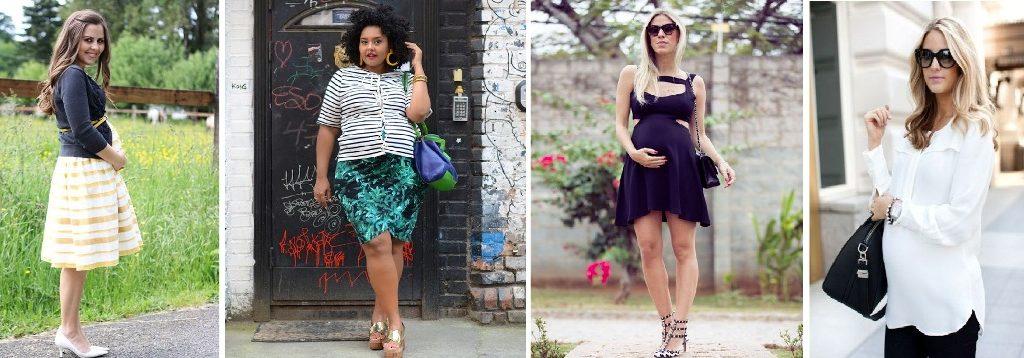 Looks de grávida para a mulher de cada estilo