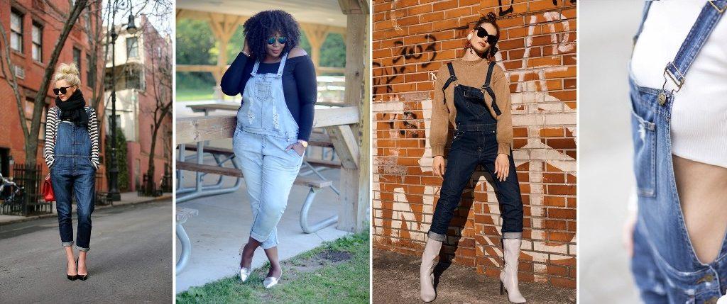 Como deixar o macacão jeans mais estiloso