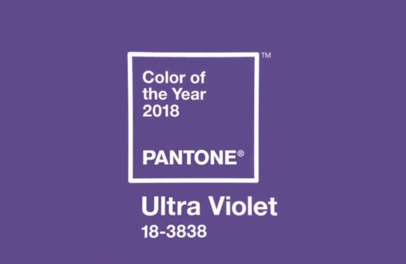 Como usar a cor Ultravioleta, a cor de 2018