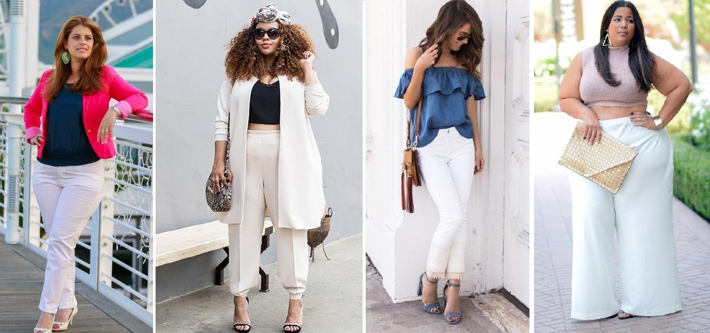 cbd2df391ab Como usar a calça branca a favor da sua silhueta - Vestindo Autoestima