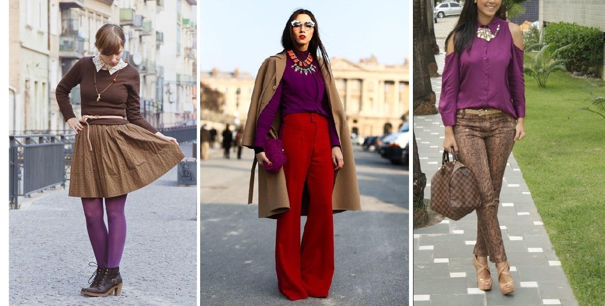 96412514df ... a Pantone é a Ultra Violeta, e se você quer uma inspiração pra usar  essa cor (além das que eu dei nesse texto aqui), veja como fica bonito com  o marrom!