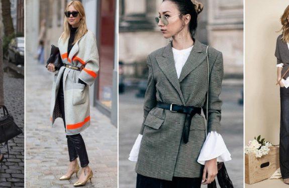 Cinto por cima da roupa é a tendência do inverno