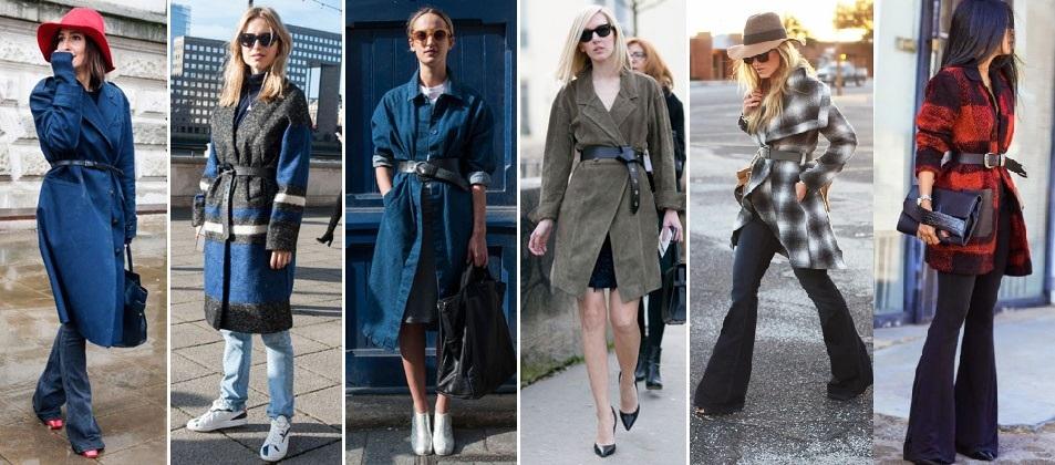 87a23e794b Cinto por cima da roupa é a tendência do inverno - Vestindo Autoestima