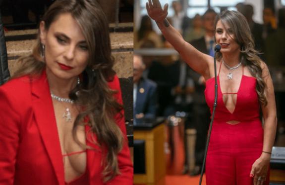 Sobre dress code e o decote da deputada Ana Paula da Silva